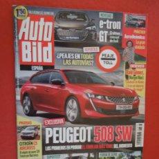 Coleccionismo de Revistas y Periódicos: AUTOBILD REVISTA N º 573- 11-2018 - PEUGEOT 508 SW. Lote 288059408
