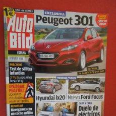 Coleccionismo de Revistas y Periódicos: AUTOBILD REVISTA N º 258- 11-2010- PEUGEOT 301. Lote 288071548