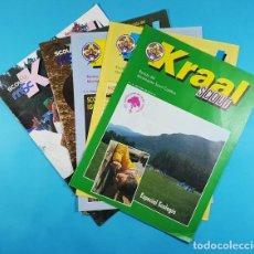 Coleccionismo de Revistas y Periódicos: LOTE 5 KRAAL REVISTAS DEL MOVIMIENTO SCOUT CATOLICO NUMEROS 4, 7, 8, 15 Y 23. AÑOS 1990 1996. Lote 288150053