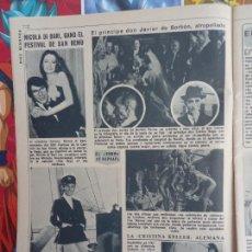 Coleccionismo de Revistas y Periódicos: RAPHAEL NICOLA DI BARI EL PRINCIPE JAVIER DE BORBON. Lote 288190123