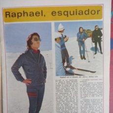 Coleccionismo de Revistas y Periódicos: RAPHAEL. Lote 288190593