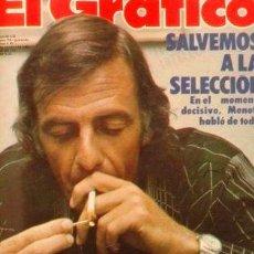 Coleccionismo de Revistas y Periódicos: EL GRAFICO 3045 COMIC MUHAMMAD ALI VERSUS SUPERMAN. Lote 288281268