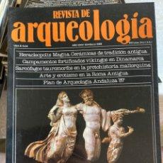 Coleccionismo de Revistas y Periódicos: LOTE DE 59 REVISTAS DE ARQUEOLOGÍA. Lote 288337878