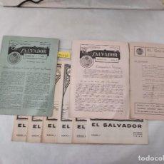 Coleccionismo de Revistas y Periódicos: 50030 - LOTE DE 10 REVISTAS RELIGIOSAS - EL SALVADOR - Nº DEL 1 AL 10 - JULIO DE 1941. Lote 288451703