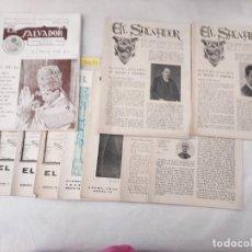 Coleccionismo de Revistas y Periódicos: 50032 - EL SALVADOR - LOTE DE 10 REVIASTAS RELIGIOSAS - JUNIO JULIO 1942. Lote 288452673