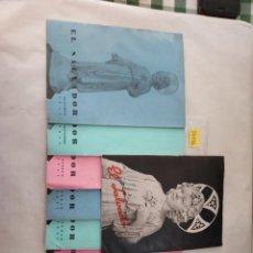 Coleccionismo de Revistas y Periódicos: 50036 - EL SALVADOR - LOTE DE 9 REVISTAS RELIGIOSAS - JUNIO JULIO 1951. Lote 288453893