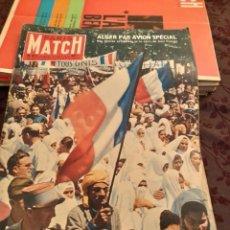 Coleccionismo de Revistas y Periódicos: PARIS MATCH :: ALGER + BRUXELLES + DE GAULLE. Lote 288564838