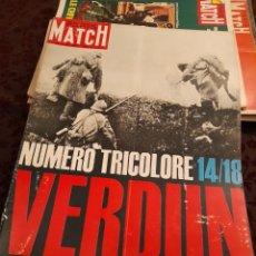 Coleccionismo de Revistas y Periódicos: PARIS MATCH : VERDUN + STEVE MACQUEEN + RICHARD ANTHONY. Lote 288567033