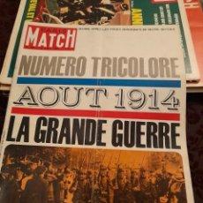 Coleccionismo de Revistas y Periódicos: PARIS MATCH : LA GRANDE GUERRE ( 1914 ) + KIRK DOUGLAS. Lote 288574108