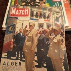 Coleccionismo de Revistas y Periódicos: PARIS MATCH : ALGER + LA BOUNTY + GENERAL DE GAULLE + LA BELLE EPOQUE. Lote 288574223