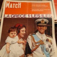 Coleccionismo de Revistas y Periódicos: PARIS MATCH : GRECE ILES + GEMINI X + MANUEL BENITEZ EL CORDOBES + SHEILA + MANITAS DE PLATA. Lote 288575803