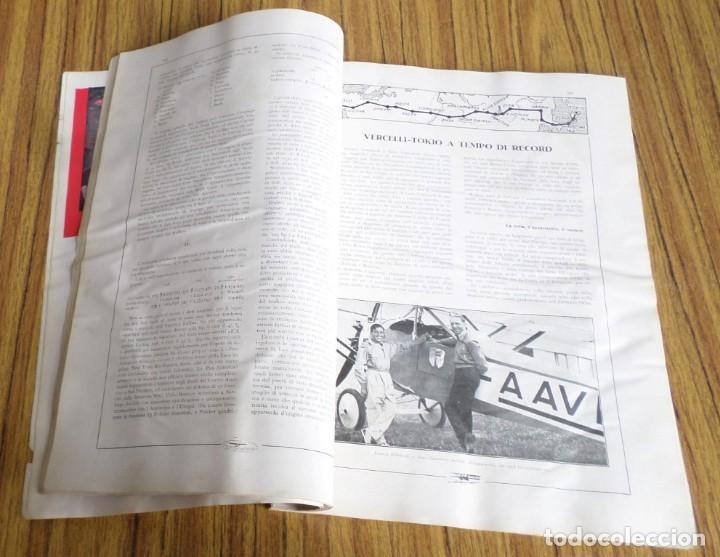 Coleccionismo de Revistas y Periódicos: AERONAUTICA - revista mensile internazionale illustrat - agosto 1930 A. VIII - Foto 8 - 288591348