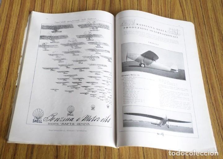 Coleccionismo de Revistas y Periódicos: AERONAUTICA - revista mensile internazionale illustrat - ottobre 1930 A. VIII - Foto 7 - 288591658