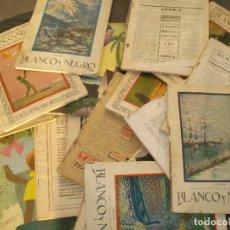 Coleccionismo de Revistas y Periódicos: LOTE DE 19 REVISTAS BLANCO Y NEGRO AÑOS 1927 Y 1928 ,. Lote 288600258