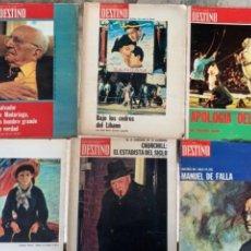 Coleccionismo de Revistas y Periódicos: LOTE DE 6 REVISTAS DEL AÑO 1974. Lote 288605593