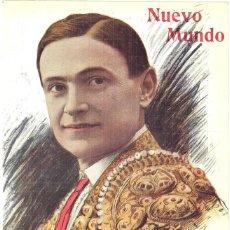 Coleccionismo de Revistas y Periódicos: 1913 HOJA REVISTA PORTADA TORERO MATADOR DE TOROS RICARDO TORRES 'BOMBITA' FOTO DE ALFONSO. Lote 288614473
