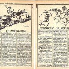 Coleccionismo de Revistas y Periódicos: 1913 HOJAS REVISTA ARTÍCULO RETIRADA DE LOS RUEDOS TORERO MATADOR DE TOROS RICARDO TORRES 'BOMBITA'. Lote 288616378