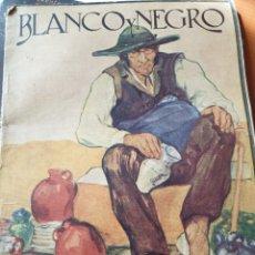 Coleccionismo de Revistas y Periódicos: REVISTA BLANCO Y NEGRO AÑO 34. 21-12-1924. Lote 288617058
