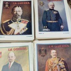 Coleccionismo de Revistas y Periódicos: REVISTA LA GUERRA ILUSTRADA, 160 NÚMS. CASI COMPLETA, PRIMERA GUERRA MUNDIAL, FOTOGRAFÍAS Y MAPAS.. Lote 288632018