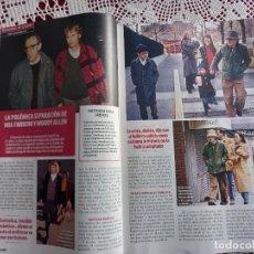 Coleccionismo de Revistas y Periódicos: WOODY ALLEN MIA FARROW. Lote 288673643