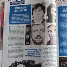 Coleccionismo de Revistas y Periódicos: DETENIDA LA CUPULA DE ETA. Lote 288674948