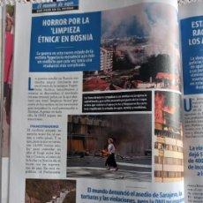 Coleccionismo de Revistas y Periódicos: 1992 LA GUERRA DE BOSNIA. Lote 288676063