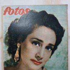 Coleccionismo de Revistas y Periódicos: REVISTA FOTOS. AÑO 1954. CELIA GAMEZ,MINISTROS EN EXPOSICION MINEROMETALURGICA,. Lote 288702748