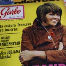 Coleccionismo de Revistas y Periódicos: JANE FONDA SORAYA MODA MIGUEL RIOS SHARON TATE SOLEDAD MIRANDA GARBO 1970. Lote 288718088