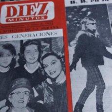 Coleccionismo de Revistas y Periódicos: BRIGITTE BARDOT EL CORDOBES MILVA EDWIGE FEUILLERE SOLEDAD MIRANDA 1963. Lote 288725838