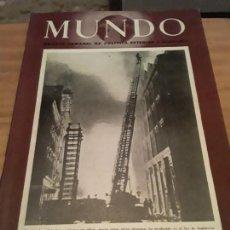 Coleccionismo de Revistas y Periódicos: MUNDO.REVISTA SEMANAL POLITICA EXTERIOR Y ECONOMIA.AÑO V.N.216.25 JUNIO 1944.. Lote 288867903