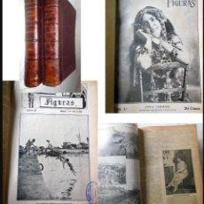 Coleccionismo de Revistas y Periódicos: LETRAS Y FIGURAS, REVISTA SEMANAL ARTISTICO - LITERARIA (DESDE EL Nº1 AL 48). Lote 9327055