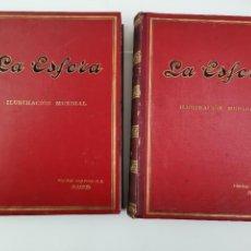Coleccionismo de Revistas y Periódicos: REVISTA LA ESFERA AÑO 1916. 2 TOMOS.. Lote 288949858