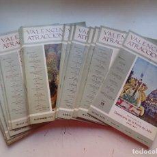 Coleccionismo de Revistas y Periódicos: VALENCIA ATRACCION, 28 ANTIGUAS REVISTAS, AÑOS 1971-1976 - VER FOTOS ADICIONALES. Lote 288959158