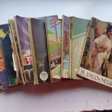 Coleccionismo de Revistas y Periódicos: BLANCO Y NEGRO, 15 ANTIGUAS REVISTAS, AÑO 1932-1936 Y 5 SUPLEMENTOS GENTE MENUDA, VER FOTOS. Lote 288961093