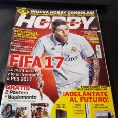 Coleccionismo de Revistas y Periódicos: REVISTA HOBBY CONSOLAS NÚMERO 303 CON POSTER. Lote 288978818