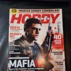 Coleccionismo de Revistas y Periódicos: REVISTA HOBBY CONSOLAS NÚMERO 302 CON PÓSTER. Lote 288979023