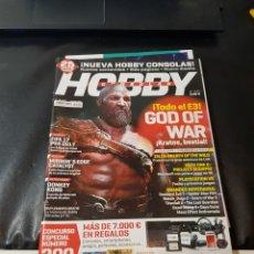 Coleccionismo de Revistas y Periódicos: REVISTA HOBBY CONSOLAS NÚMERO 300 COMPLETA. Lote 288979668