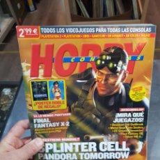 Coleccionismo de Revistas y Periódicos: REVISTA HOBBY CONSOLAS NÚMERO 149 SIN PÓSTER. Lote 288985818