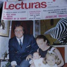 Coleccionismo de Revistas y Periódicos: FELIX RODRIGUEZ DE LA FUENTE CHARLTON HESTON ROCIO DURCAL MARIE LAFORET 1969. Lote 289002258