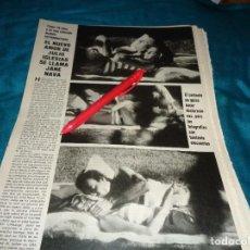 Coleccionismo de Revistas y Periódicos: RECORTE : JULIO IGLESIAS CON SU NUEVO AMOR. SEMANA, NOVMBRE 1984(#). Lote 289237803