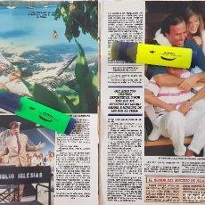Coleccionismo de Revistas y Periódicos: REPORTAJE DE JULIO IGLESIAS 21.06.88. Lote 289254143