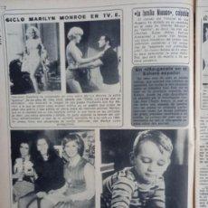 Coleccionismo de Revistas y Periódicos: MARILYN MONROE. Lote 289299703