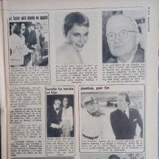 Coleccionismo de Revistas y Periódicos: SANDIE SHAW NATALIA FIGUEROA MIA FARROW ELIZABETH TAYLOR LIZ. Lote 289299898