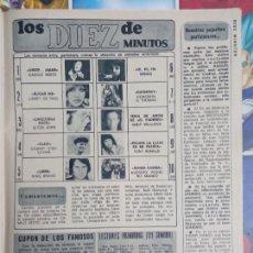 Coleccionismo de Revistas y Periódicos: ESCALA DE EXITOS CAMILO SESTO TONY RONALD NINO BRAVO. Lote 289462608