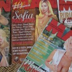 Coleccionismo de Revistas y Periódicos: 4 REVISTAS MAN 1997.. Lote 289501953