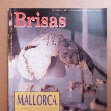 Coleccionismo de Revistas y Periódicos: REVISTA BRISAS Nº 560 BERNARDO PUJOL HUELLA DEL PRIMER HOMBRE JOSE LUIS PEREZ EULATE SNOOTY FOX. Lote 289533913