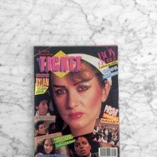 Coleccionismo de Revistas y Periódicos: TICKET - 1984 BOB DYLAN, LOQUILLO, BOY GEORGE, PATRICIA ADRIANI, MICHAEL JACKSON, JAVIER GURRUCHAGA. Lote 289548238