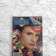 Coleccionismo de Revistas y Periódicos: TICKET - 1984 - AVIADOR DRO, NACHO CANUT, MECANO, SPRINGSTEEN, CULTURE CLUB, QUEEN, MERCEDES RESINO. Lote 289549733