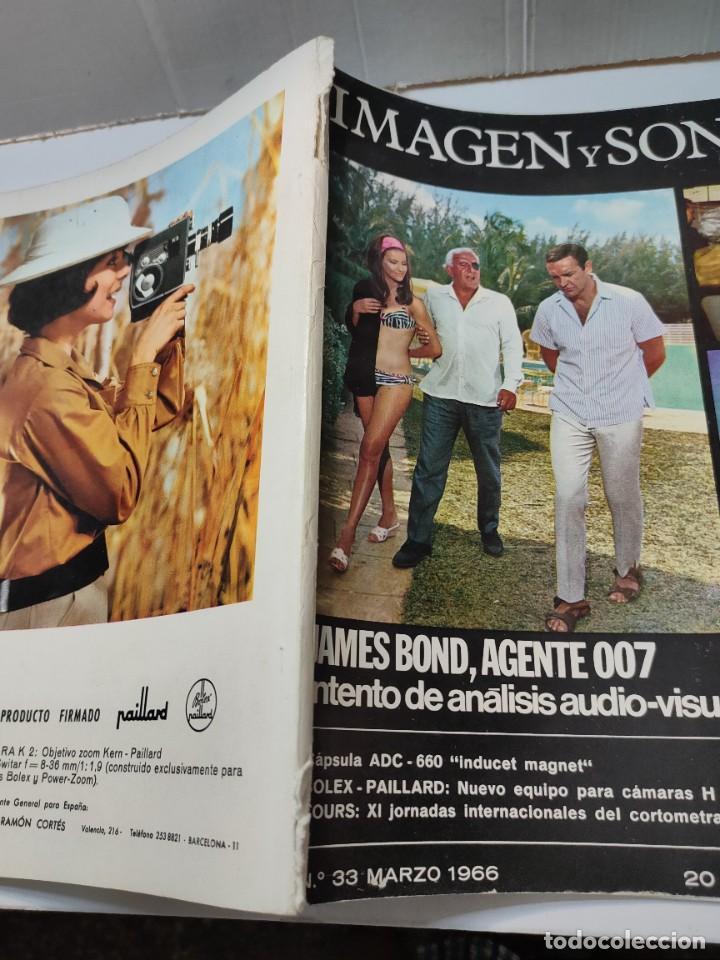 Coleccionismo de Revistas y Periódicos: Revista Imagen y Sonido-James Bond-número 33 de 1966 - Foto 6 - 289682463