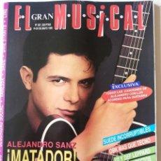 Coleccionismo de Revistas y Periódicos: REVISTA EL GRAN MUSICAL 387 ALEJANDRO SANZ SUEDE OBK LUZ CASAL GRETA LOS GARBO LOQUILLO PAOLO VALESS. Lote 289686388